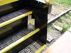 Bookcrossing at the caboose in Vienna