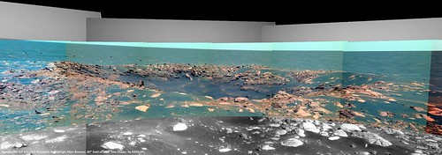 (Flashback) Opportunity Sol 421 - Viking Crater