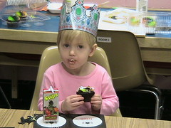 Elizabeth is 3!
