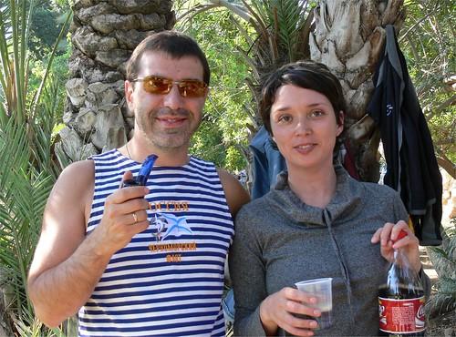 Евгений Гришковец и Юлия Менис