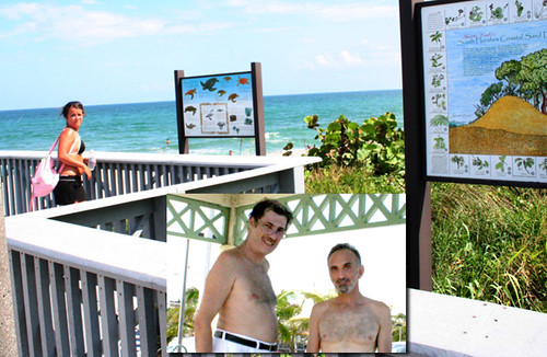 Ramblin in Florida: After Mom's Party an Atlantic Ocean Swim