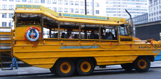 Ducktours Bus and Boat