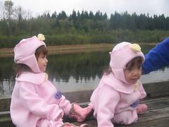 Pondside twins