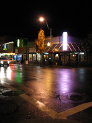 Night time in Oly