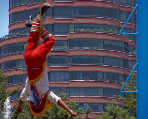 Chapultepec, Volador de Papantla
