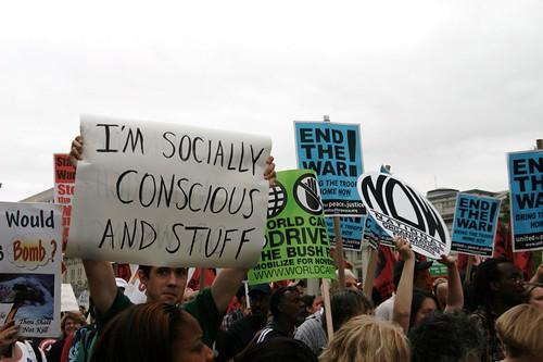 i'm socially conscious