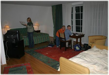 Heidelberg Hotel Room
