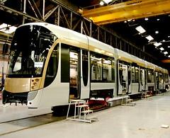 MIVB grijze tram