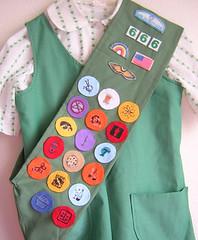 Girl Scout Sash 2