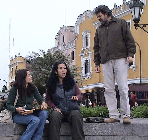Melania Urbina, Magdyel Ugaz y Pancho Lombardi