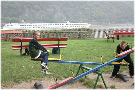 Playground on the Rhine