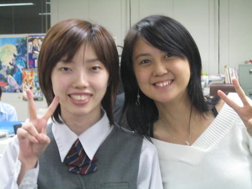 Mimura-san, me