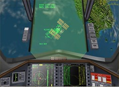 Dock ISS - Delta Glider Virtual Cockpit