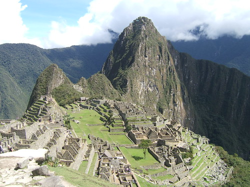Machu Picchu (courtesy of Buena Vista 2005 on Flickr)