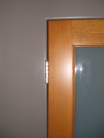 no trim door jamb 1