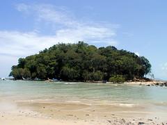 Small island of Klong Muang Beach