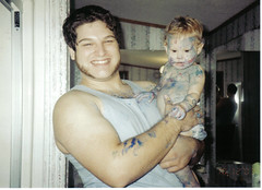 blue gabby and daddy
