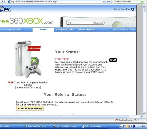 Free Xbox screenshot
