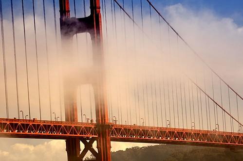 Bridge in Clouds