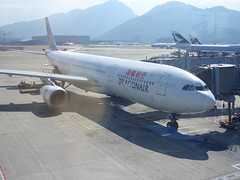 Dragonair's A330 at HKG