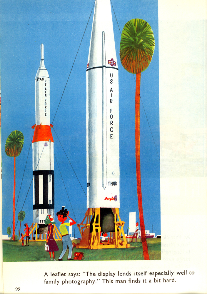 This is Cape Canaveral: missiles