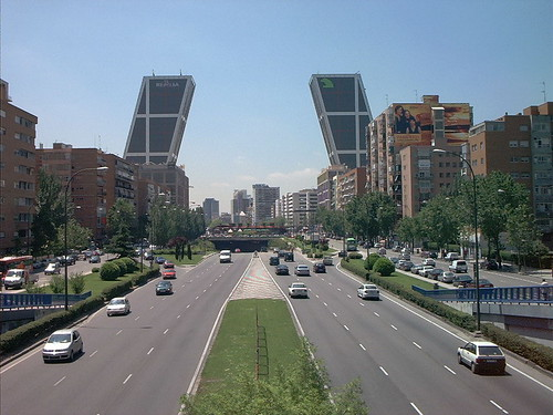Torres Puerta de Europa (Kio), Madrid