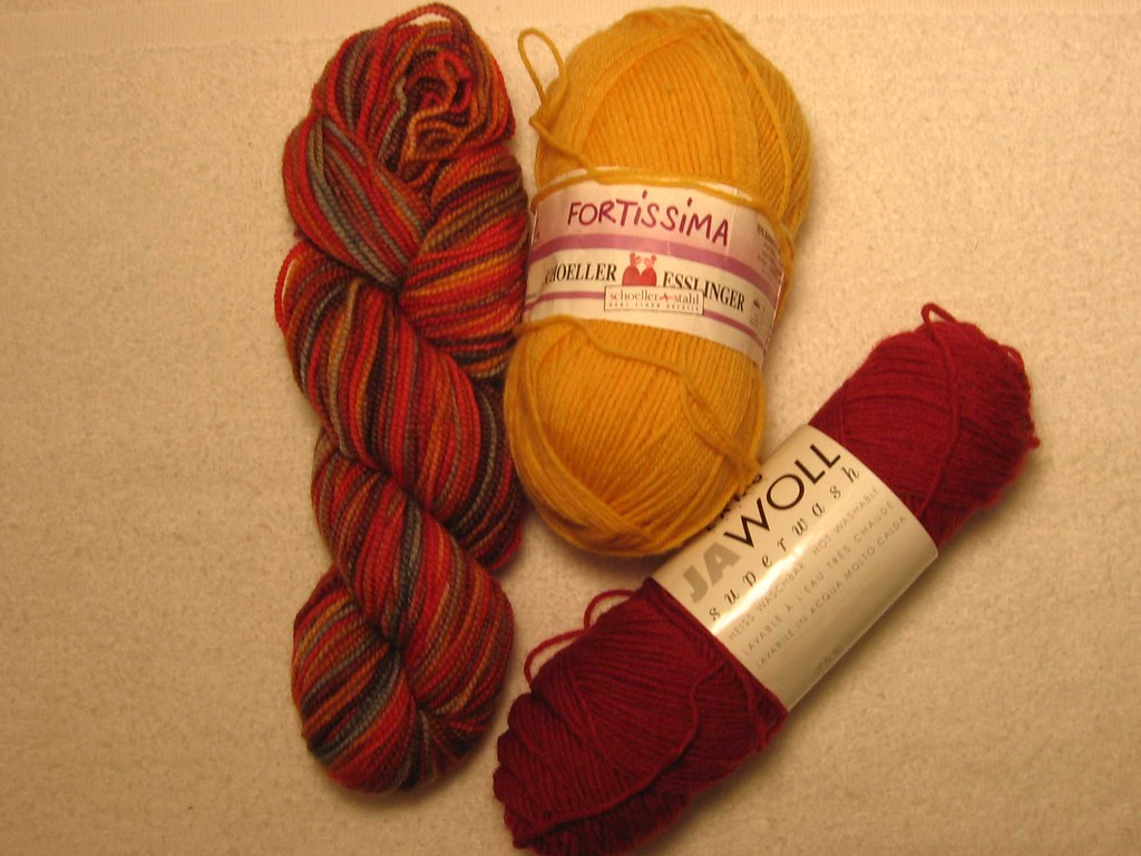 Yarn for solstice socks