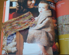 Swatch with picture of blanket