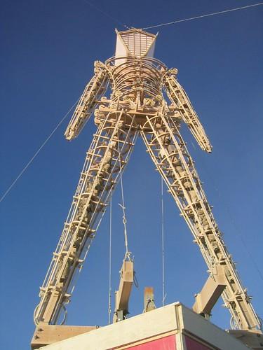 The Man at Burning Man 2005