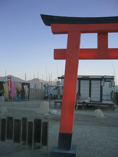 Japanese Camp at Burning Man 2005
