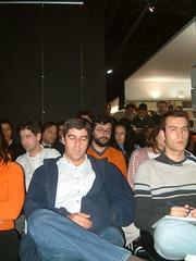 Um público numeroso...