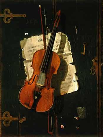 The Old Violin, John Peto
