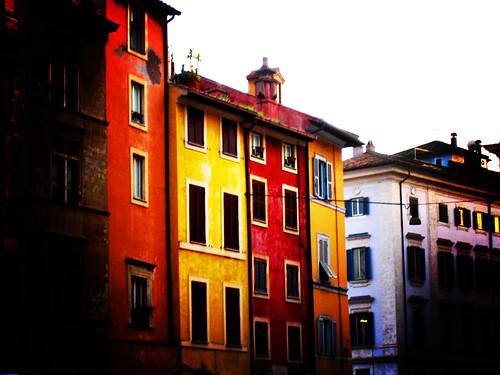 piazza della cancelleria houses, lomo version
