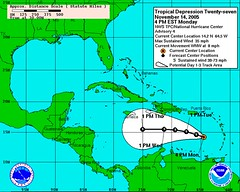 tropical depression 27