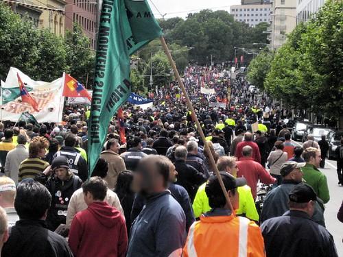 IR protest hordes en route