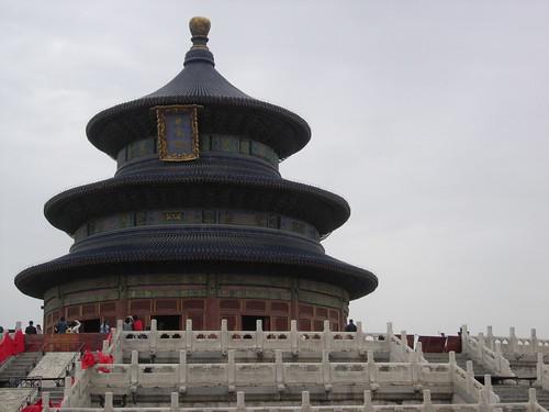 Viaje a Beijing – Día 4, Templo del Cielo y paseo por el centro. class=