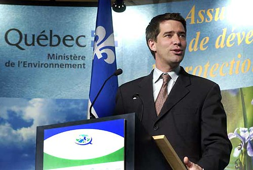 André Boisclair admitted he took cocaine while a minister in the government of Lucien Bouchard
