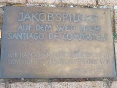 Camiño de Santiago en Speyer