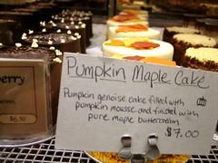 pumpkin maple cake