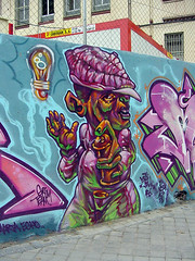 graffiti de graffitero