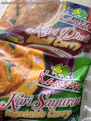 kawan dhall & vege curry