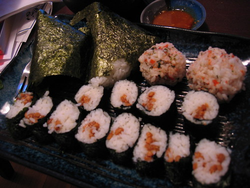 Home Made Natto Maki