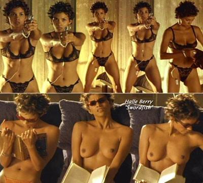 desnudo de Halle Berry