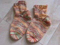 Little Cable Socks