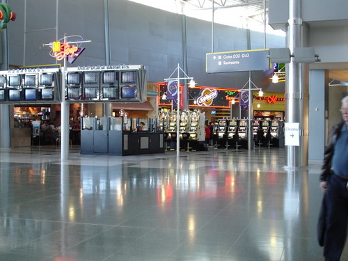 Slots at the airport!