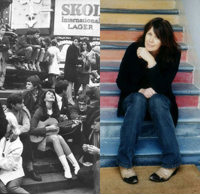 Vashti Bunyan in 1967 and 2005