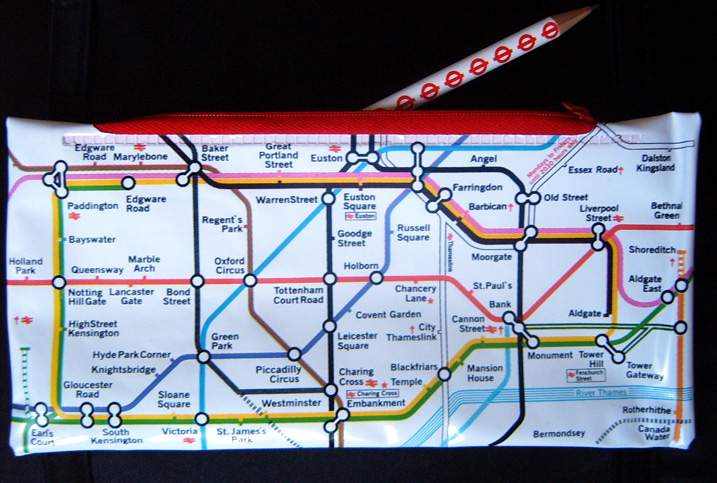 London Underground Map Zone 1