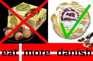 Buy Danish! You know it makes sense!