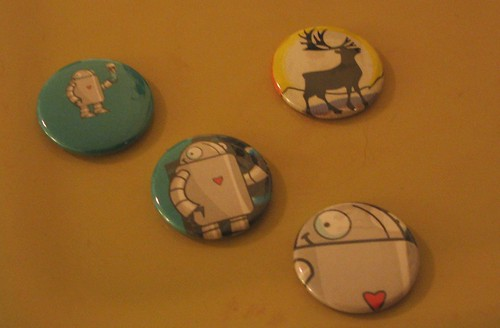 THE COOLEST BADGES EVER!!!