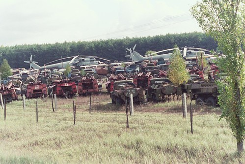 chernobyl vehicle graveyard II